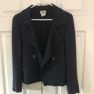 Lacoste navy blazer jacket size 36 (small)